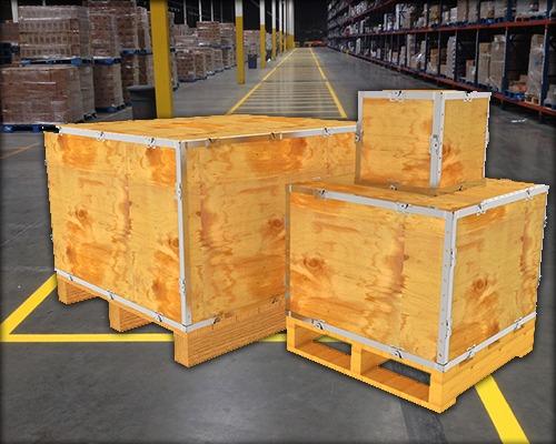 صناديق خشبية | بلاتنيوم للشحن