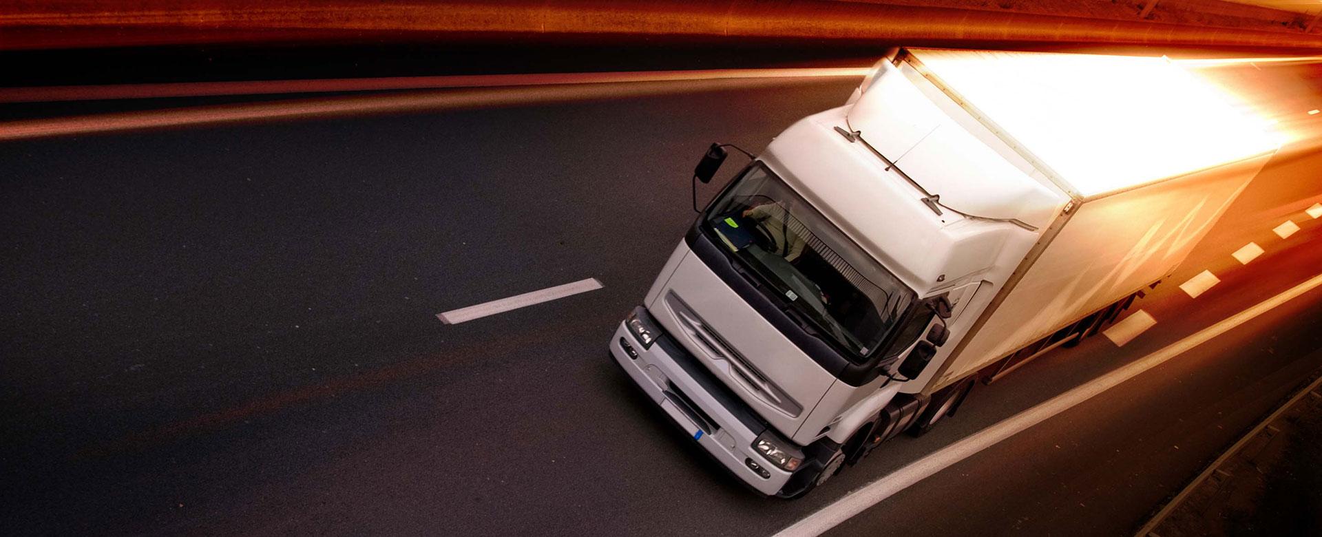 تاريخ نقل الشركة بالشاحنات