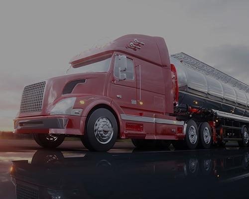 شاحنة نقل و شحن البضاعة